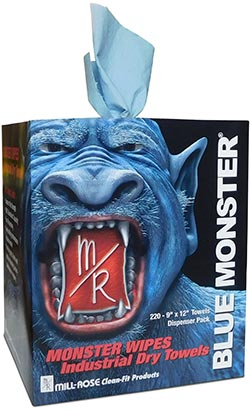 Blue Monster MONSTER WIPES Industrial Towels
