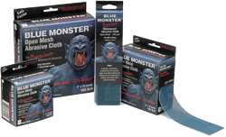 Blue Monster Abrasive Cloth