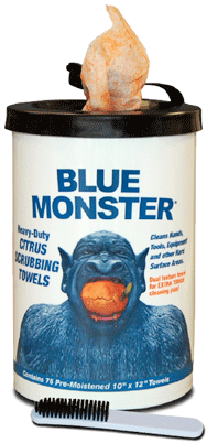 Blue Monster Citrus Scrubs