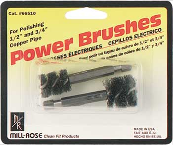 hex shank power brushes