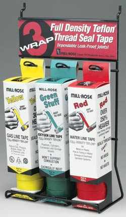 Red 3Wrap Tape Display
