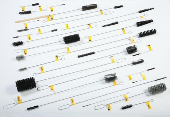 flue and boiler brushes