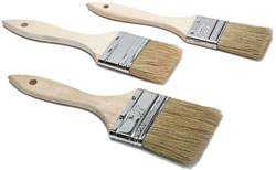 Economy Paint Chip and Applicator Brushes