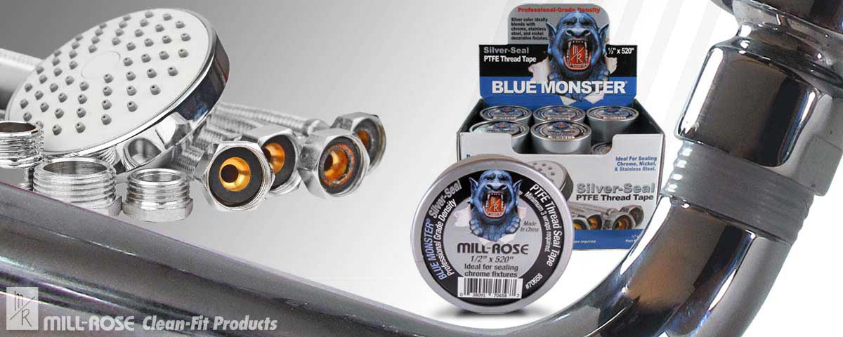 Blue Monster Silver-Seal PTFE Tape